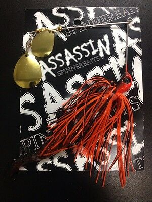 Assassin Spinnerbaits murray cod and yellowbelly 1 X 5/8 OZ #325