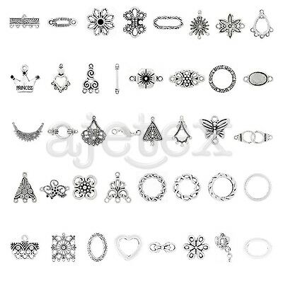 10-300pcs Connector New Metal Pendant Jewellery Finding