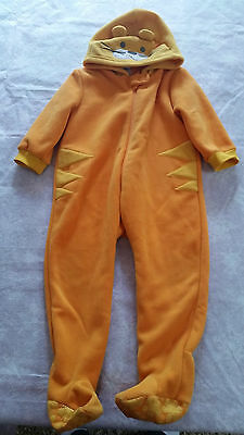 Snugtime cat animal size 3 one piece jumpsuit sleep dress up