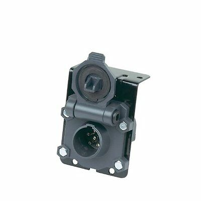 Hopkins Endurance 6-Pole Round Vehicle Side Connector 48420