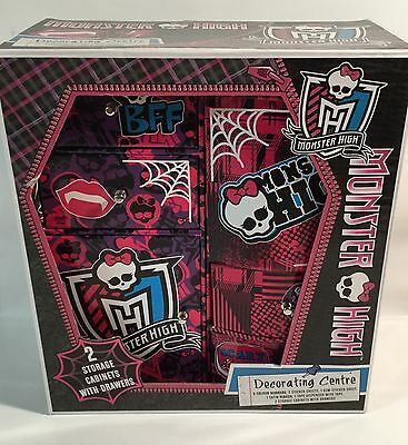 Monster High Doll Decorating Centre Storage Cabinets With Drawers