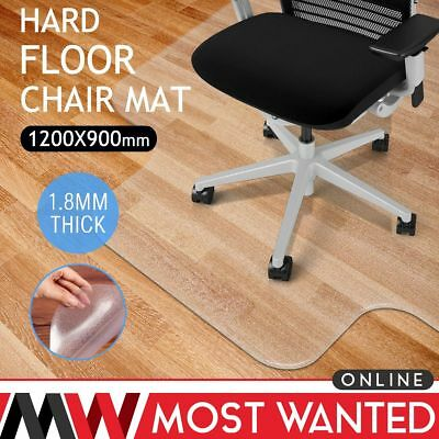 Frosted Office Chair Mat Home Floor Carpet Protector Protective PVC 1.8mm Thick