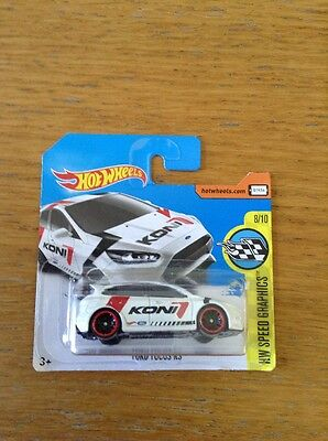Hot wheels Ford Focus Rs Koni BRAND NEW!!!!!!!