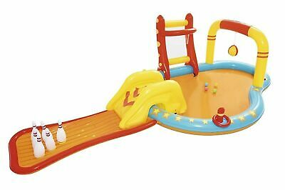 Giant Dinoland Inflatable Dinosaur Play Centre Paddling Pool & Water Slide 57135