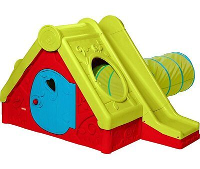 NEW Chad Valley Funtivity Playhouse with Tunnel and Slide Garden Fun Child Kids
