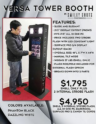 Versa Tower Booth - Photo Booth - DIGITAL SETUP (No Prints)