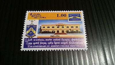 Sri Lanka 1994 Sg 1258 125Th Anniv Of St.josephs College  Mnh