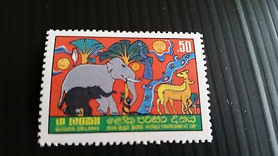 Sri Lanka 1982 Sg 772 World Environment Day Mnh