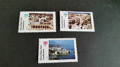 Turkish Cyprus 1988 Sg 230-232 Tourism Mnh