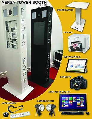 Versa Tower Booth - Photo Booth - COMPLETE SETUP