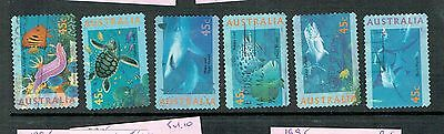 1995 Australia Marine Life Set Of 6 Stamps 45C Used