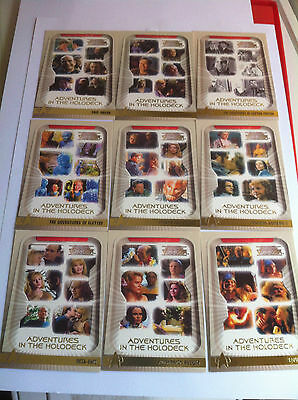 Star Trek Voyager Trading Cards Adventures In The Holodeck Mint