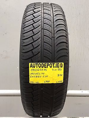 195/65R15 MICHELIN ENERGY E3A 91H 99% Part worn tyre (C960)