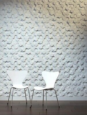 *crust* 3d Decorative Wall Panels 1 Pcs Abs Plastic Mold For Plaster Concrete Stamps, Forms & Mats