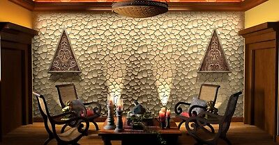 *CRUST* 3D Decorative Wall Panels 1 pcs ABS Plastic mold for Plaster