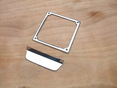 Lambretta Number Plate Surround -  Brand New