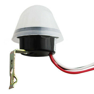 Automatic On Off Street Light Lamp Switch Photo Control Sensor for AC 110-240V