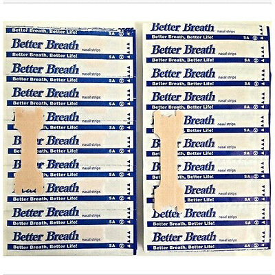 1000x BETTER BREATH NASAL STRIPS REG OR LARGE RIGHT AID TO STOP SNORING BARGAIN