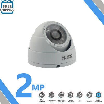 CCTV 1080P HD 2.4MP OUTDOOR Day Night Vision Home Surveillance Security Camera
