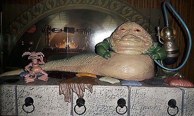 Star Wars Jabba's throne the vintage collection
