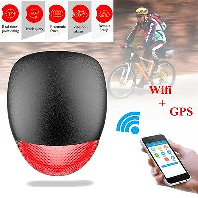 K9GPS Locator Tracker Intelligent Vibration Alarm Device Wifi Waterproof Bicycle