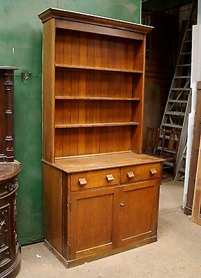 Dresser Welsh Circa 1910 Oak Whitley Village