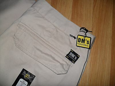 Dr Martens Dm Industrial Worker Casual Trousers 34W 34L Exquisite New Twill Pant
