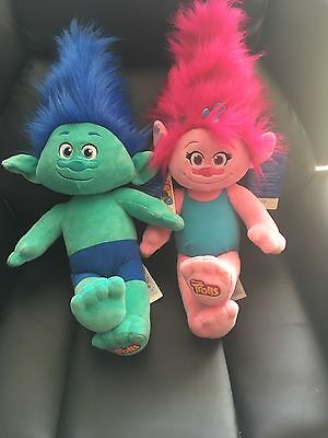 Poppy And Branch From Build A Bear !!!!!free postage!!!!!