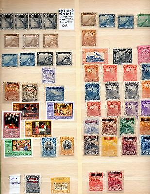 Nicaragua Stamps Mint And Used In 4 Photos