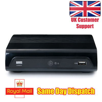 Freeview HD Set Top Box - 1080p Digital Tuner with PVR and USB Mediaplayer