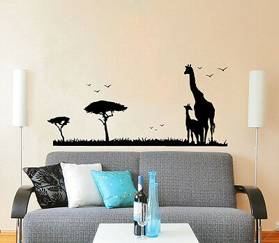Safari Wall Decal African Nursery Decor Africa Jungle