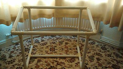 Floor Standing Tubular Hand Quilting Frame