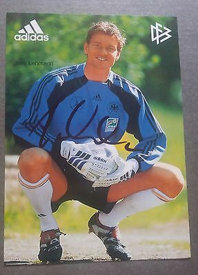 Arsenal Germany Keeper Jens Lehmann- Hand Signed Official Dfb Cards