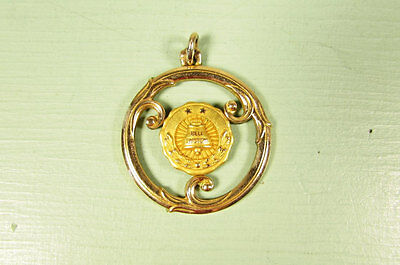 Bell System Telephone Pendant - Vintage Phone Company 2 Year Service GF