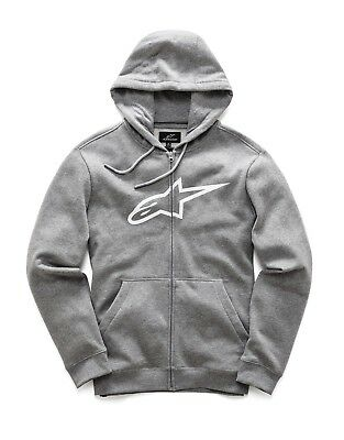 Hoody Alpinestars Ageless Fleece Zip Farbe: Grau Gr: 05=S