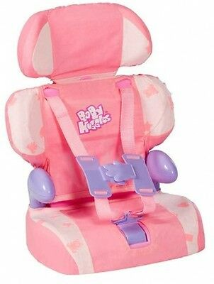 Doll Car Booster Seat -Toy Car Seat for Dolls -Baby Huggles -Realistic Role Play