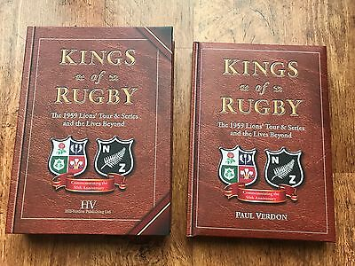 Kings Of Rugby 1959, Lions Memorabilia Book