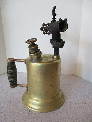 "Antique Brass Plumbers ""blow Torch"",  Great ""steam Punk"" Classic"