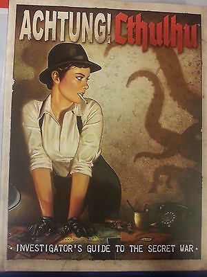 Achtung Cthulhu - investigators guide to the secret war