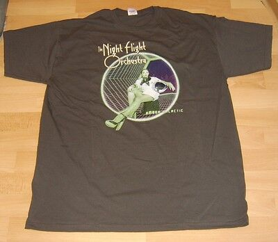 THE NIGHT FLIGHT ORCHESTRA Amber Galactic T-Shirt grau XL Neu Shirt SOILWORK***
