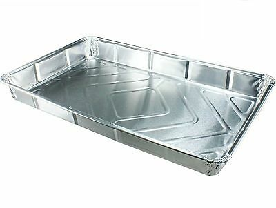 """20 x NEW Foil baking trays large containers Aluminium Disposable dishes 12 x 8"""""""
