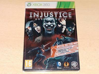 Injustice Gods Among Us Steelbook Limited Special Edition Xbox 360 UK PAL