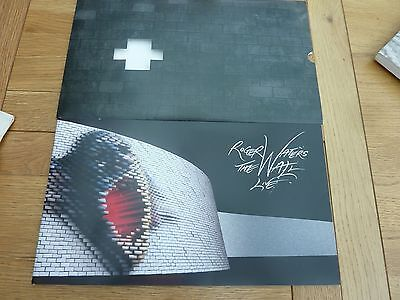 2011 Roger Waters Pink Floyd The Wall Programme & Tkt Stubs London O2