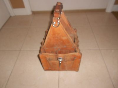 Ideal Tuff Tote Ultimate Tool Carrier Leather Tool Tote