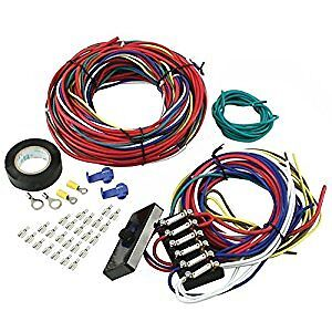 EMPI 9466 UNIVERSAL WIRE HARNESS W/FUSE BOX , Excellect For Dune Buggys,Trikes,