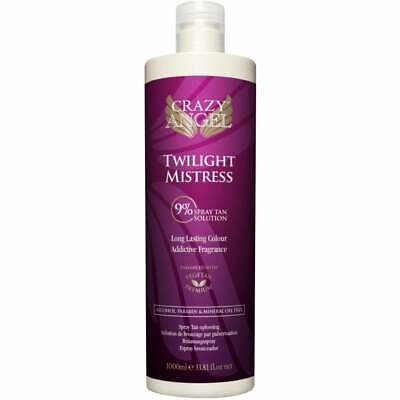 Crazy Angel Twilight Mistress Medium Dark 9% DHA Tanning Spray Airbrush 200ml
