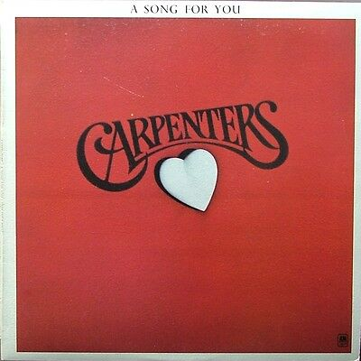 """The Carpenters - """" A Song For You """" - Vinyl Lp"""