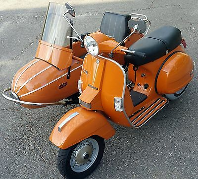 2009 Genuine Stella with Sidecar like Vespa 2-stroke
