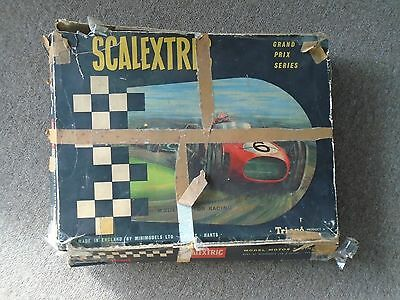 Vintage Scalextric Set including cars from Early 1960`s (Rubber Track)