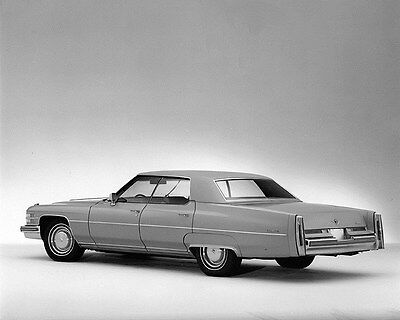 1974 Cadillac Sedan DeVille Factory Photo ca6998
